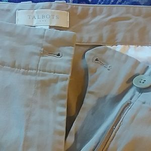 TALBOTS Khaki  WALKING SHORT